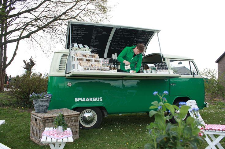 Smaakbus Koffie. VW Combi conversion - coffee van perfection.