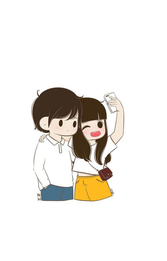 Follow Me On Instagram Imkomal06 Cute Love Cartoons Cartoons Love Cute Couple Cartoon