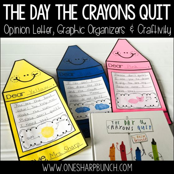 https://www.teacherspayteachers.com/Product/The-Day-the-Crayons-Quit-Opinion-Writing-2495386