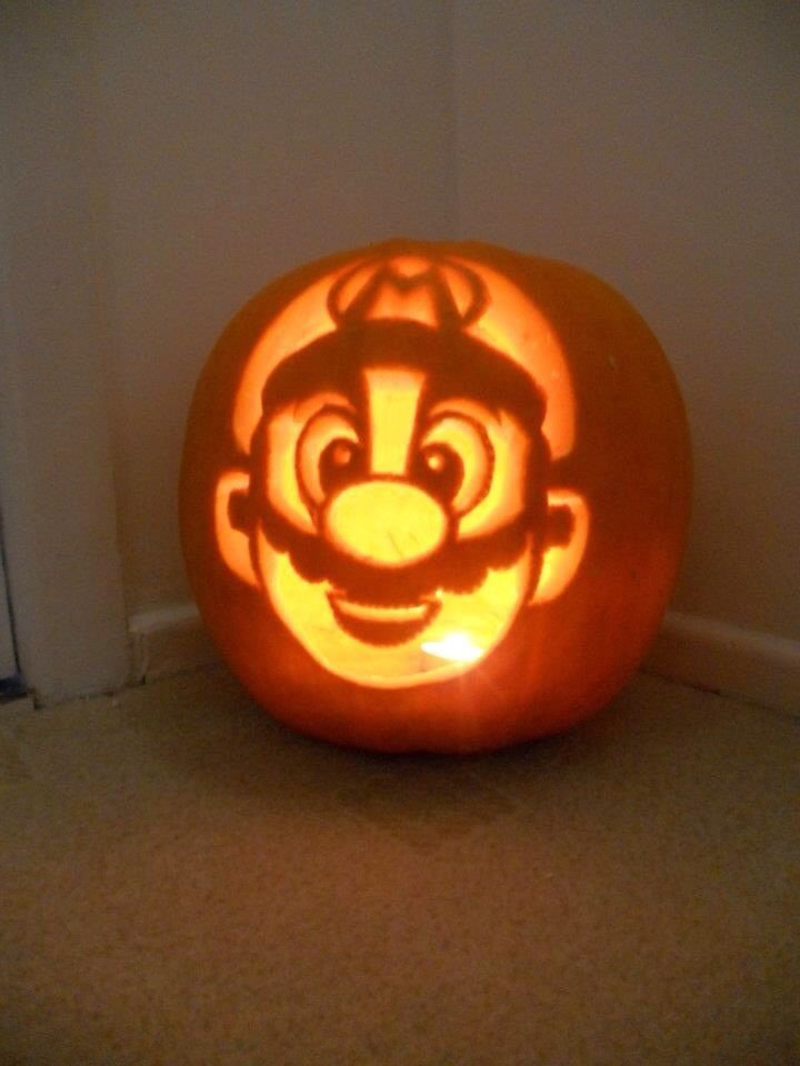 The 25 best mario pumpkin ideas on pinterest pumpkin for Boo pumpkin ideas