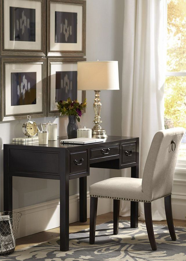 pottery barn home office furniture. perfect for a small space pottery barn deskwork home office furniture p