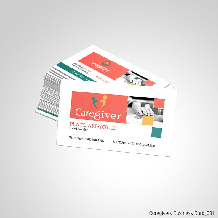 Caregivers (Standard Business Cards) | Caregivers (Standard ...