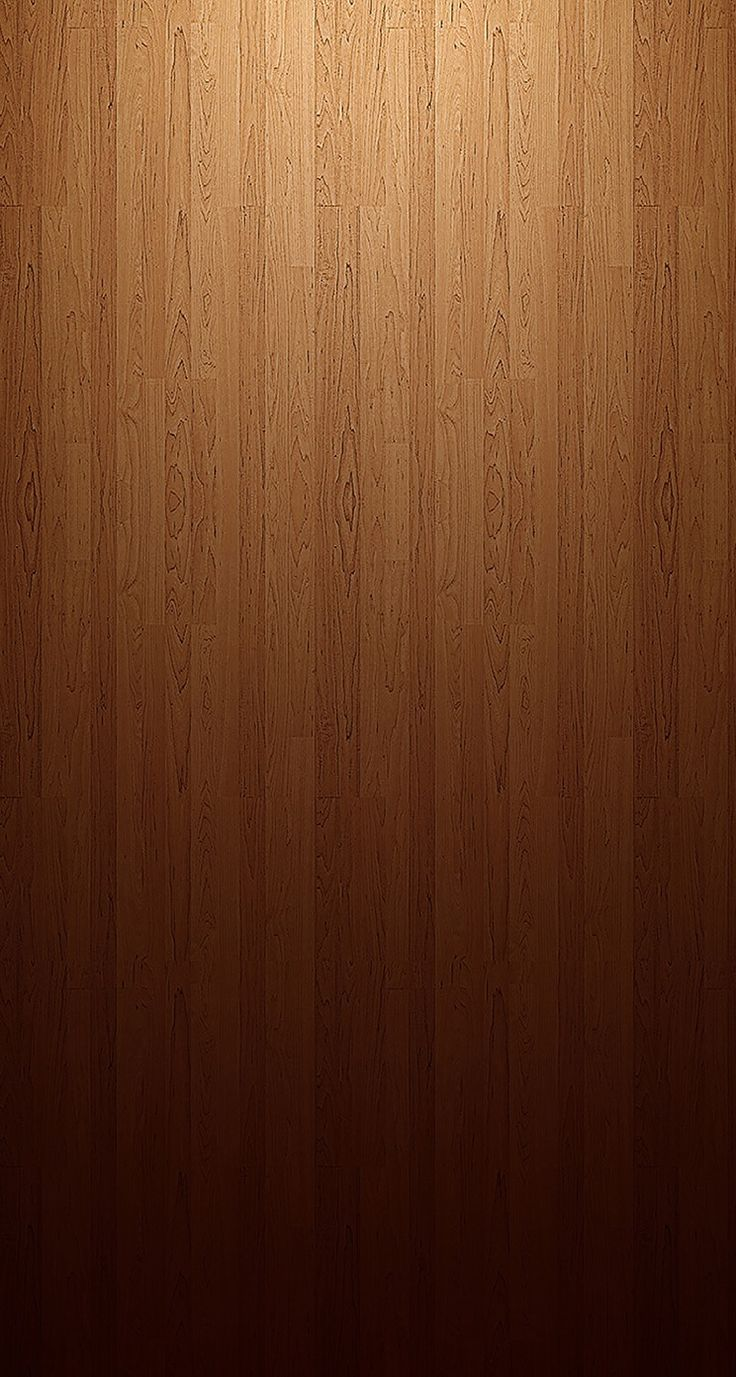 !!TAP AND GET THE FREE APP! Minimalistic Unicolor Brown Wooden Simple HD iPhone …