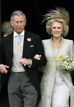 *PRINCE CHARLES & CAMILLA. Theirs is the royal love story for our age.  They loved each other for many years before overcoming so many obstacles to become husband and wife.
