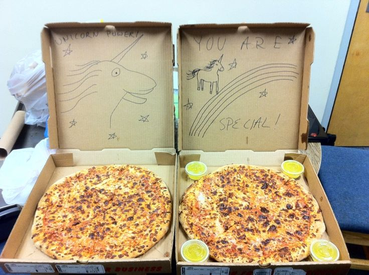 Funny Special Instructions and Illustrations When Ordering a Pizza #pizza #food #funny