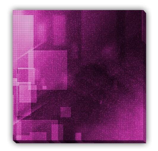 Magazin online de tablouri si postere de arta, tablouri canvas decoratiuni pictura moderna abstract picturi religioase reproduceri de arta fotografii - ABSTRACT - Purple Night I