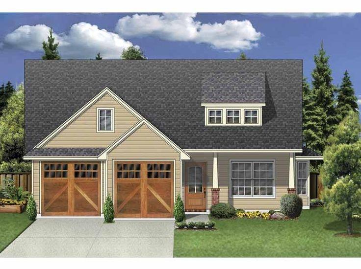 Eplans Prairie House Plan Three Bedroom Craftsman Under