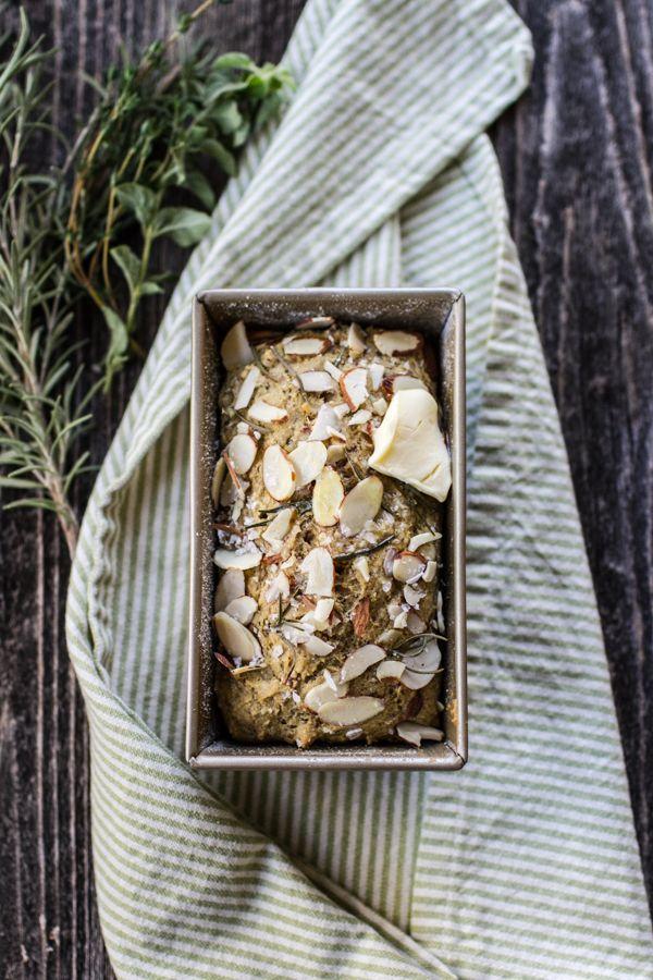 Gluten Free Savory Herb and Sea Salt Quick Bread