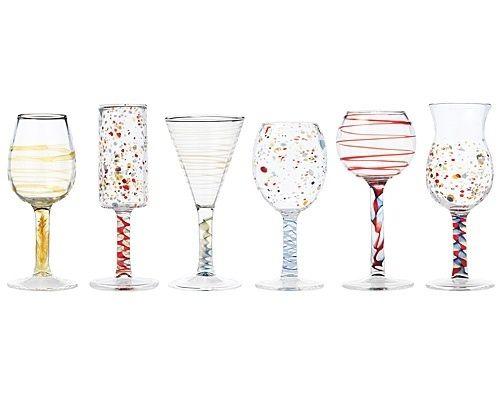 33. Maggliolini Cordial Glasses, $275 for set of six   37 Unique Glasses To Make Happy Hour Even Happier