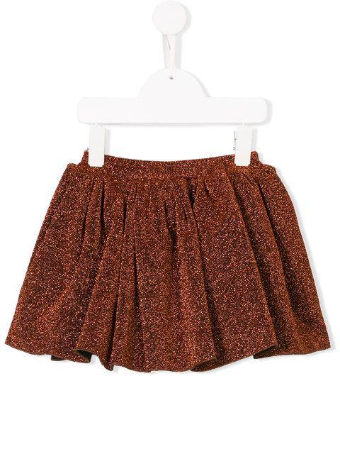 Shop Caroline Bosmans glitter mini skirt. Girls