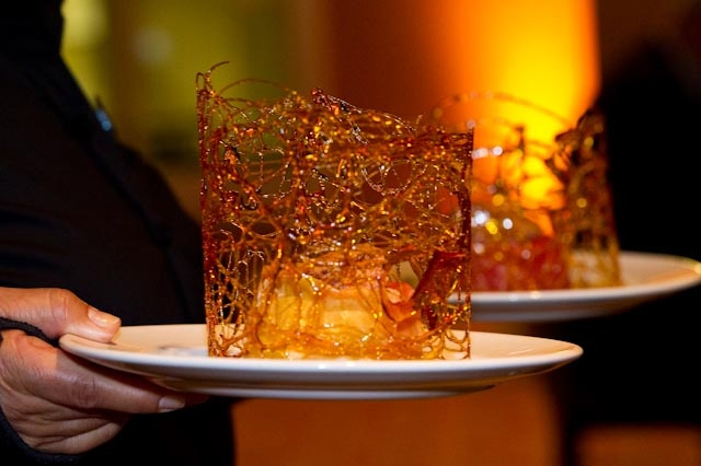 Dish served at the Chaine des Rotisseurs event at Chaminade Resort