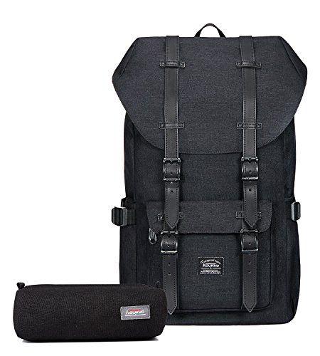 4815e176c6c3 Kaukko Laptop Outdoor Backpack Travel Hiking  Camping Rucksack Pack Casual  Large College School Daypack Shoulder Book