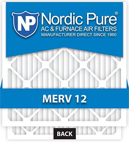 Nordic Pure 20x25x1 AC Furnace Air Filters MERV 12, Box of 6 *** You can find out more details at the link of the image.