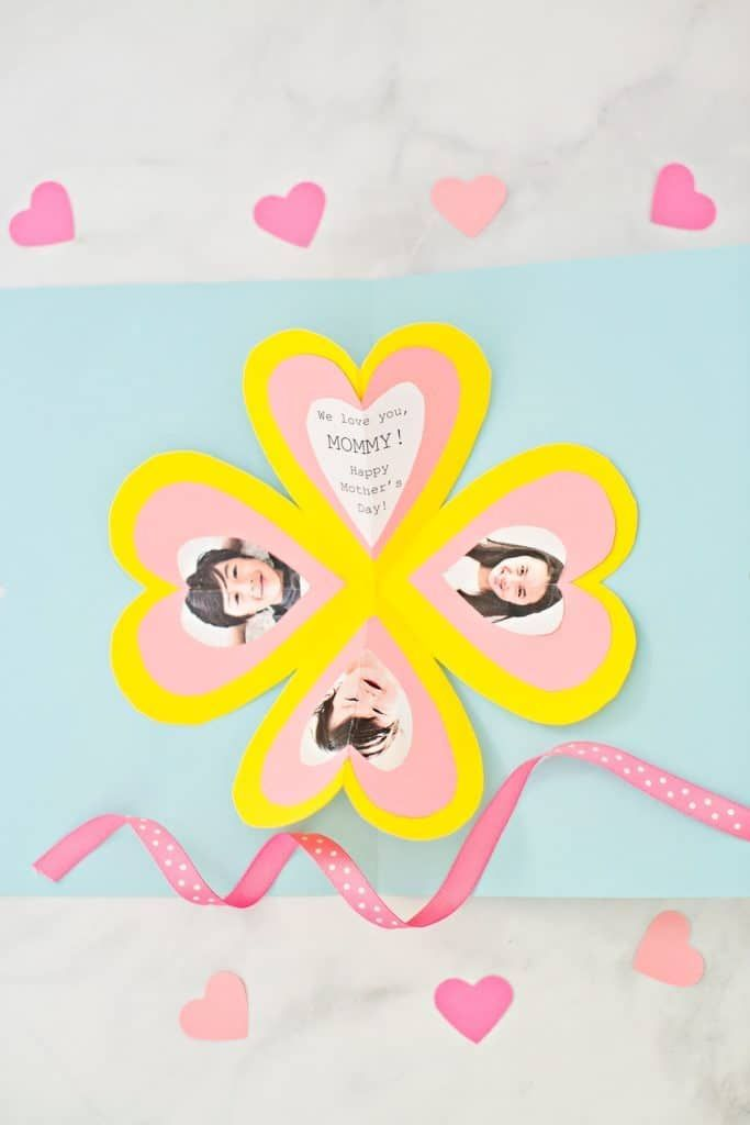 Get The Free Template To Make This Easy Heart Pop Up Card Heart Pop Up Card Pop Up Card Templates Card Template