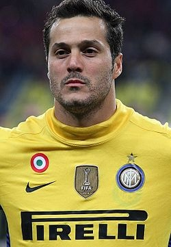 Julio Cesar, brazilian goalkeeper.