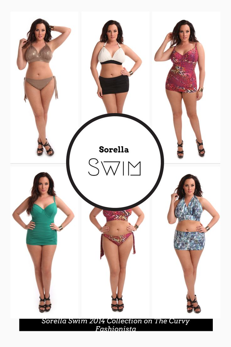 Plus Size Swim: Sorella Swim 2014 Collection