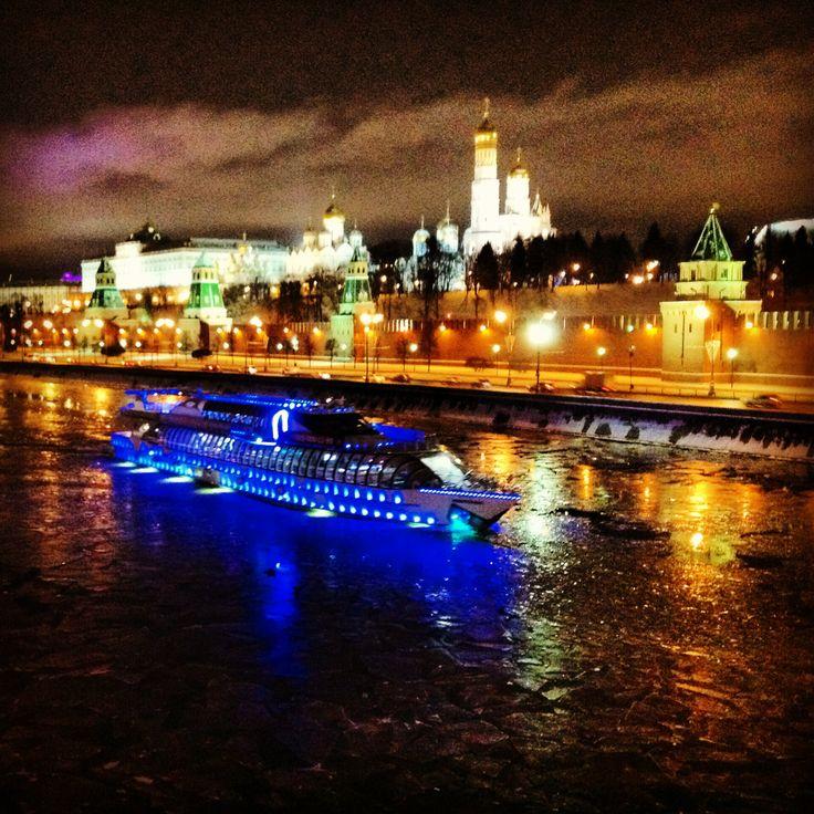 Eastsite of the river Moskva