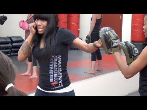Hip+Fit Cardio Kickboxing Women's Bootcamp in NYC - YouTube