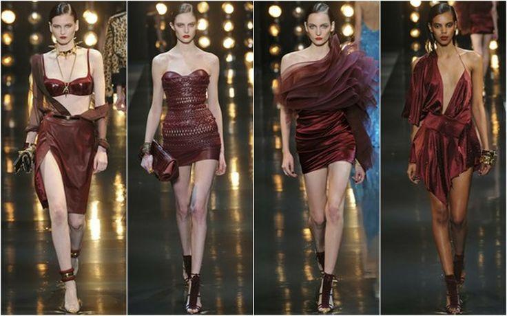Burgundy - Beautifully Fierce!: Paris Haute Couture: Spring 2014 Colour Trends.