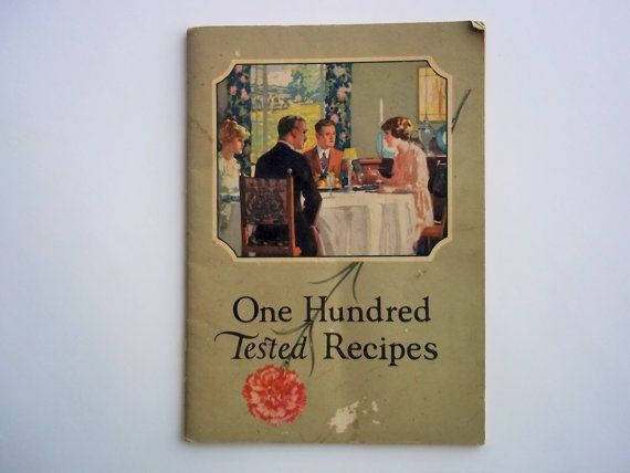 1921 Carnation Milk Recipes Booklet. One Hundred by ThrowItForward
