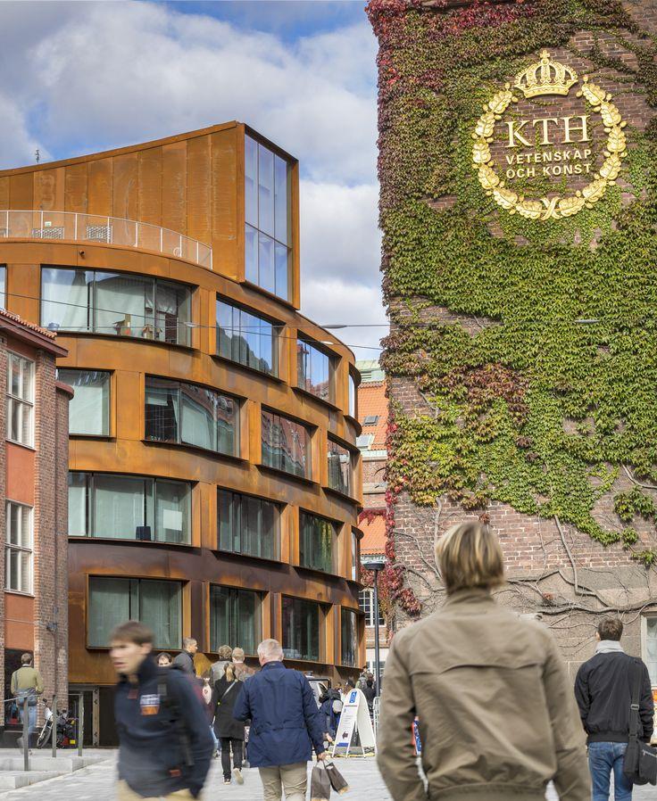 Arkitekturskolan, Stockholm. Färdig 2015. Fotograf: Jean Baptiste Béranger
