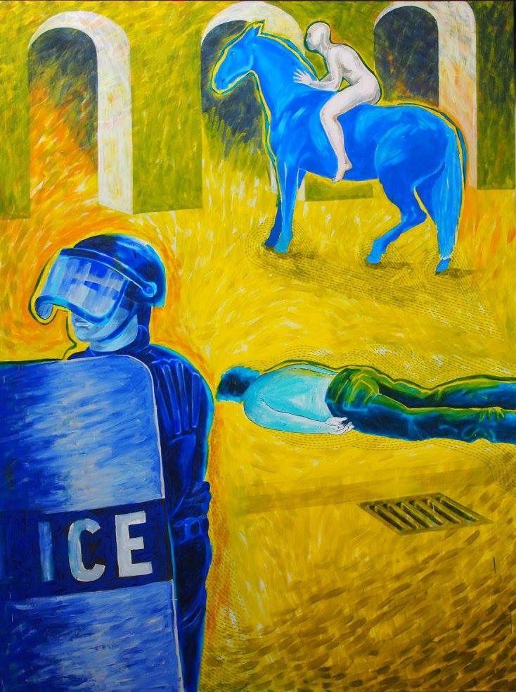 Obraz 2 - 200 x 150 cm; olej, płótno; 2015