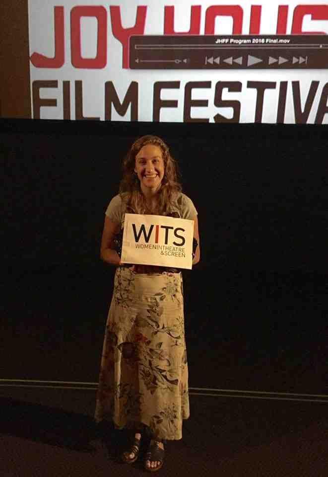 W.I.T.S 2016 Winner Sally Dulson (Women in Theatre & Screen at Joy House Film Festival)