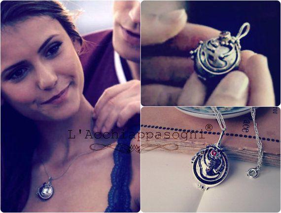 ❤️❤️❤️ The Vampire Diaries Jewelry  Elena Gilbert by LAcchiappasogni, €17.00