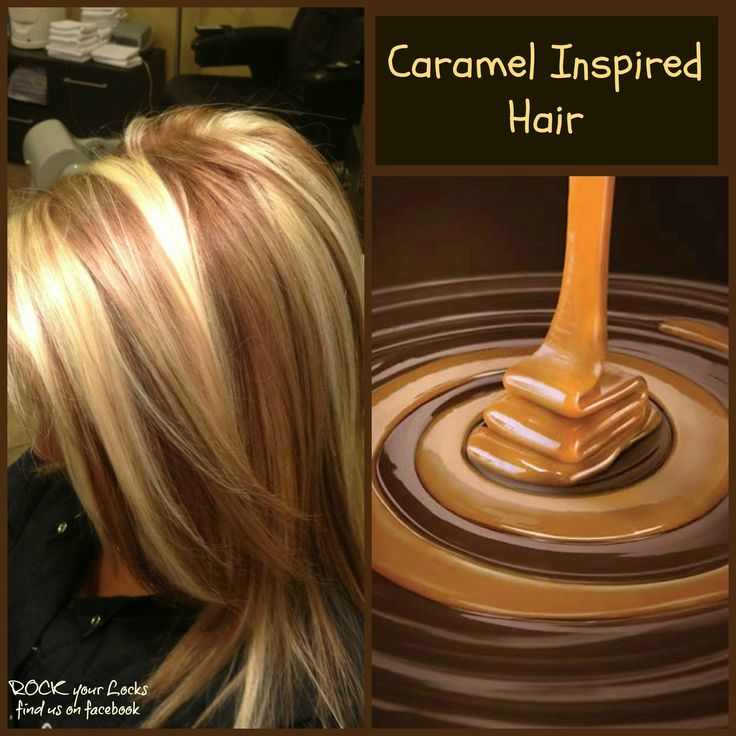 Caramel Inspired Hair - Blonde and Caramel Foils https://www.facebook.com/pages/Rock-your-Locks/133025596754055?ref=hl