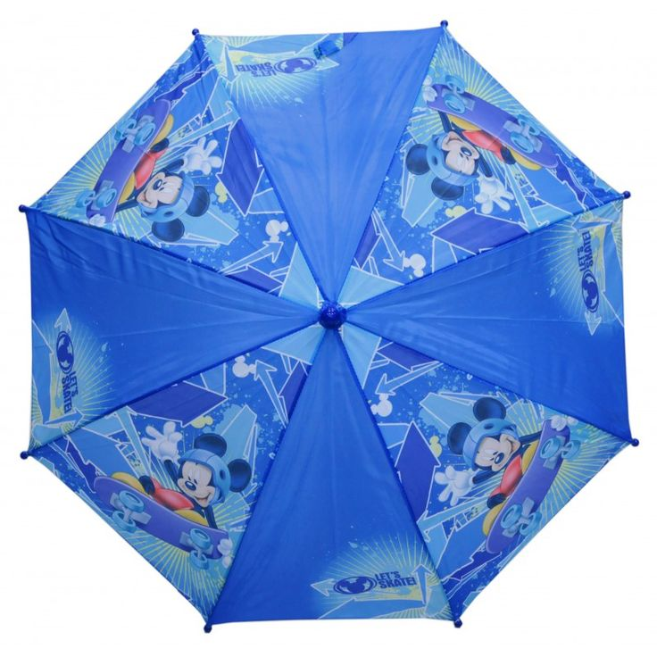 Mickey Disney parapluie Mickey skater de couleur bleu