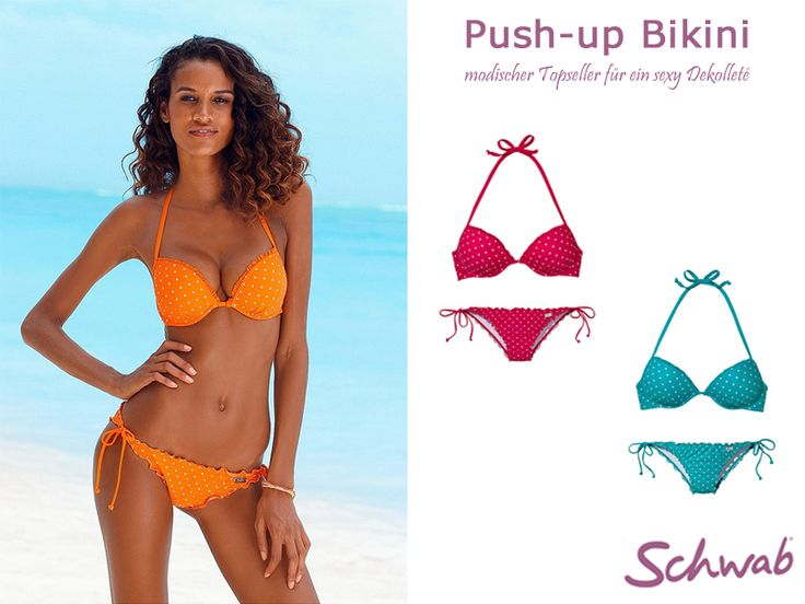 Der sexy Push-up Bikini für besonders heiße Tage. #PushupBikini