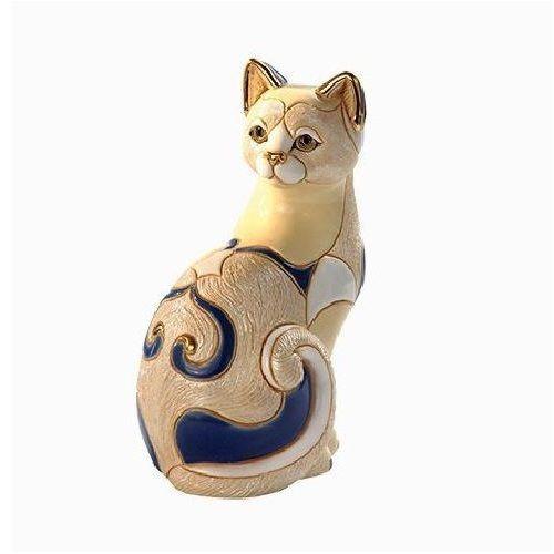 Ceramic Cat Sculpture | De Rosa Collection | White Cat