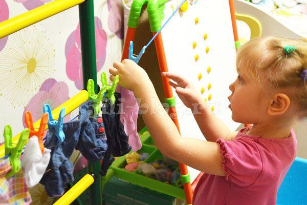 План развивающих игр для детей 2 - 3 лет