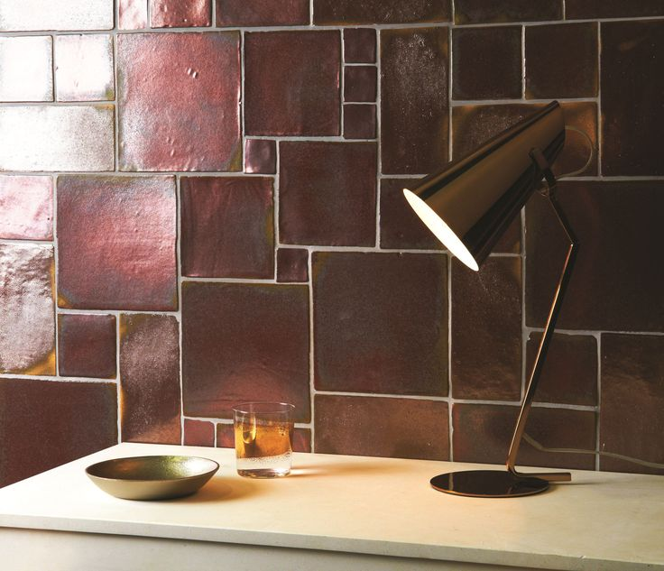 Foundry Metallics Rose Gold by The Winchester Tile Company