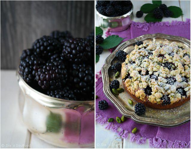 sia´s soulfood foodblog: Brombeer-Streuselkuchen mit Pistazien