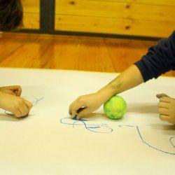 Pictures - workshops / laboratori - Segni mossi