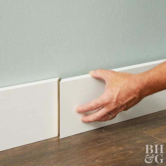 Scarf joints help conceal the seam in your molding. Learn how to make one before remodeling.