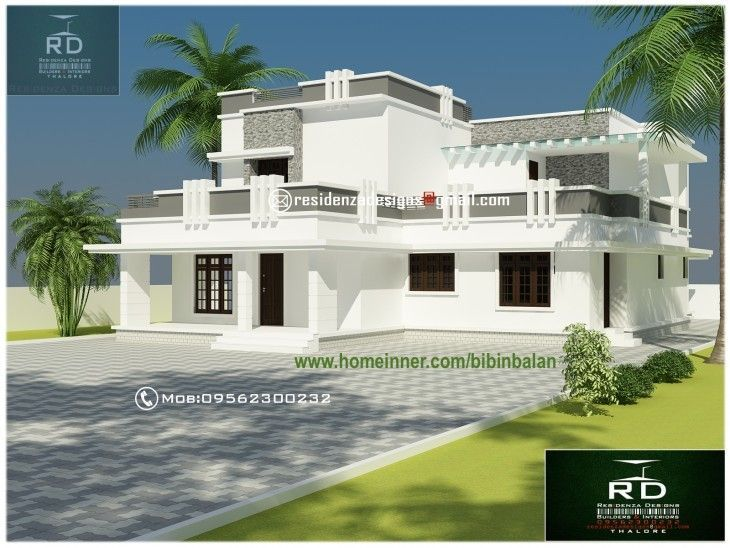 4500 Sq Ft Contemporary Kerala Luxury House Design Luxurygarages Kerala House Design Luxury House Designs House Design