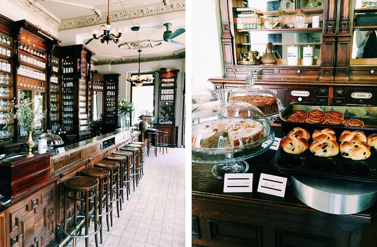 Eine alte Apotheke wird zum Café: Das Café Ora in Kreuzberg