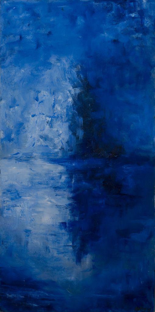 Ijsberg. Iceberg. Oilpainting on linnen. Size:80 x 40 cm. 3D FOR SALE: € 145,00