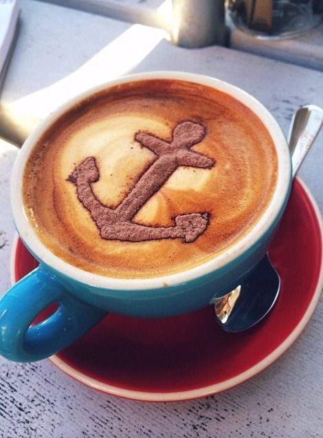One Anchor cappuccino, please