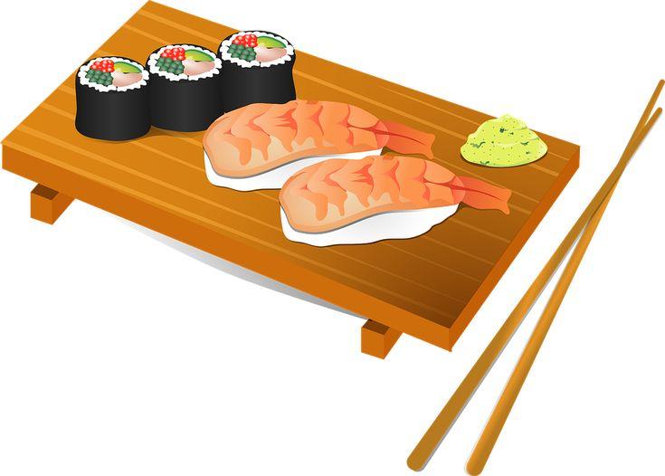 Sushi, Spisepinde, Fisk, Mad, Japan, Japansk, Ris