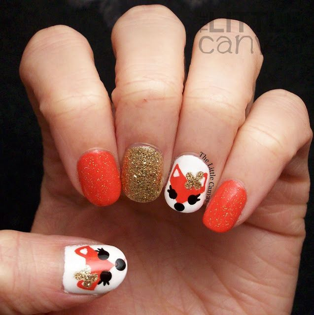 Fox Nail Designs: 25+ Trending Fox Nails Ideas On Pinterest