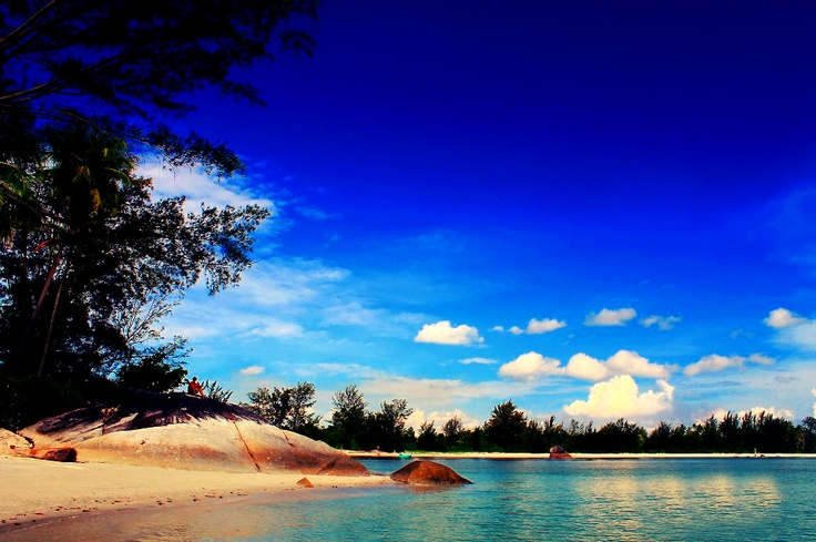 Romodong Beach on Bangka Island