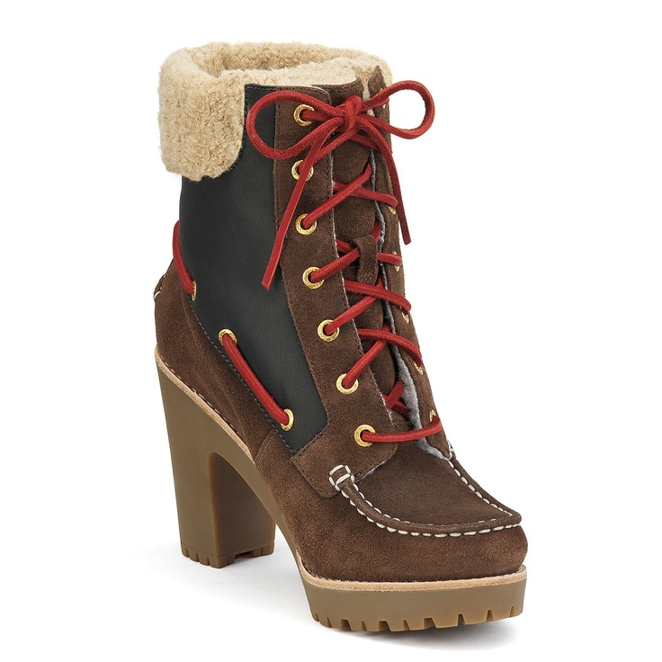 These are darling even if I don't need them for the snow!!!: Snow Boots, Hiking Booty, Boots Lug, Sperry Topsid, Topsid Trinity, Wedding Boots, Winter Boots, Trinity Boots, Sperry Boots