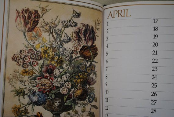 Winterthurs Twelve Months of Flowers  Vintage by Itiswhatitwas, $30.00