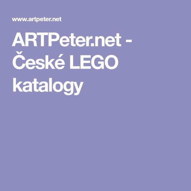 ARTPeter.net - České LEGO katalogy