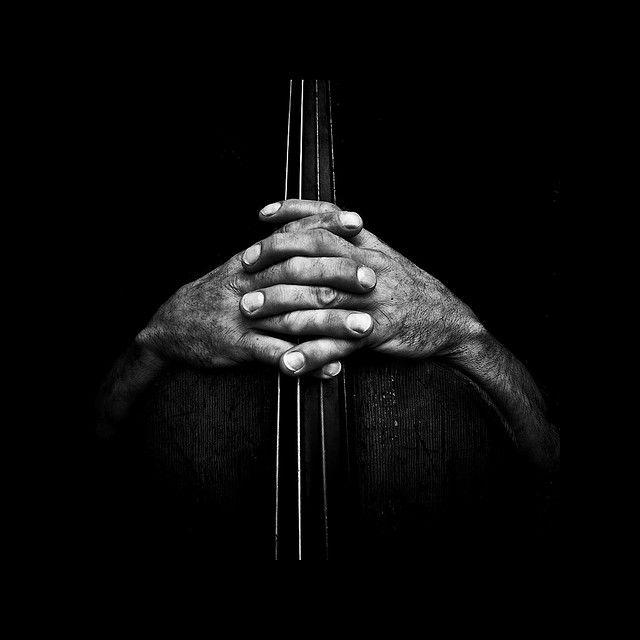 Me lo imaginé con las lineas centrales como cuerdas de un instrumento musical
