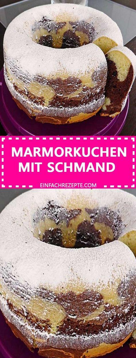 Marmorkuchen mit Schmand – Rezepte