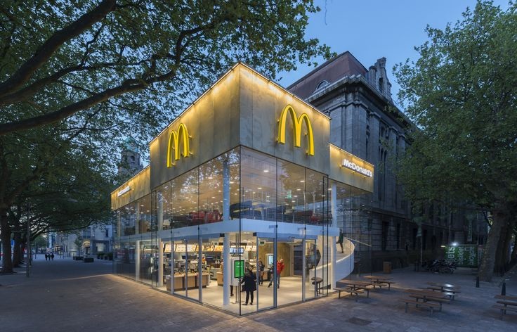 Mei architects and planners 'The fanciest Mc Donald's in the world' (photo Jeroen Musch)
